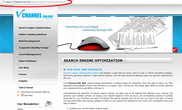 SEO friendly website | Search Engine Optimization Malaysia